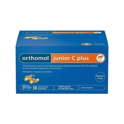 Orthomol 奥适宝 Junior C Plus 增强儿童免疫力复合营养咀嚼片 30片(橘子味/橙子味)
