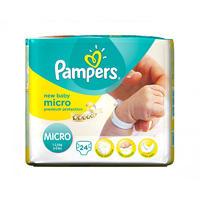 Pampers 帮宝适 超薄干爽尿不湿/纸尿片 1号 24片(1-2.5kg/绿色)