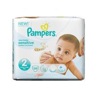 Pampers 帮宝适 超薄干爽尿不湿/纸尿片 2号 28片(3-6kg/绿色)
