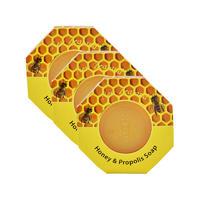 【3盒包邮】Parrs 帕氏 Wild Ferns 蜂蜜蜂胶香皂 3*140g