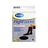 Scholl 爽健 飞行袜 1双(防静脉曲张/外出型/大码9-12)