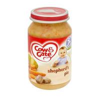 Cow & Gate 牧羊人馅饼泥罐头(7个月起) 200g*6瓶