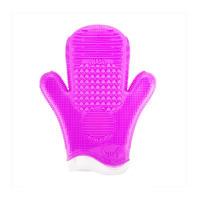 Sigma 2X专业两用Spa硅胶手套+化妆刷清洗手套(紫色)