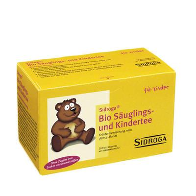 Sidroga 有机婴幼儿草本舒肠茶20袋