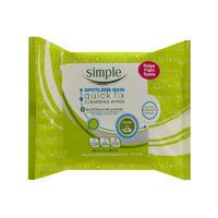 Simple 清妍 肌肤快速修复清洁湿巾 25片