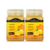 【2瓶包邮】Streamland 柠檬蜂蜜 2*500g/瓶