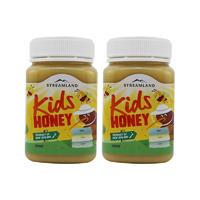 【2瓶包邮】Streamland 儿童蜂蜜 2*500g/瓶
