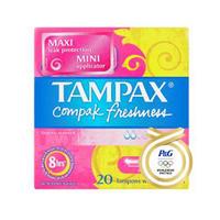 Tampax 压缩卫生棉条 20支(清新普通型)