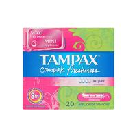 Tampax 压缩卫生棉条 20支(清新超级型)