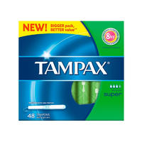 Tampax 月经卫生棉条超级型 48支