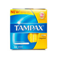 Tampax 月经卫生棉条普通型 48支