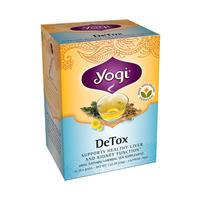 Yogi Tea 瑜伽茶 有机清血排毒茶 16包(肝肾排毒/清血去痘)