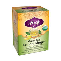 Yogi Tea 瑜伽茶 天然柠檬姜茶 16包(驱寒/健胃/促消化)