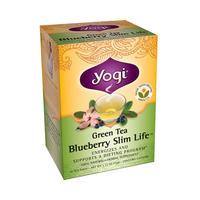 Yogi Tea 瑜伽茶 有机蓝莓绿茶 16包(燃脂/消脂/瘦身纤体)