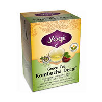 Yogi Tea 瑜伽茶 天然有机健康绿茶康普茶 16包