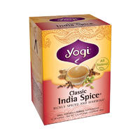 Yogi Tea 瑜伽茶 经典印度甜辣茶 16包(无咖啡因/排毒)