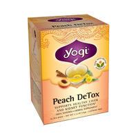 Yogi Tea 瑜伽茶 有机蜜桃内分泌清毒茶 16包 (肝肾排毒去下巴痘痘)