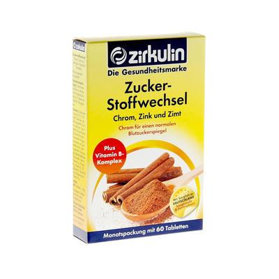 Zirkulin 天然桂皮降糖片 60片