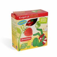 Zonnatura 天然有机压榨果泥 1盒(苹果草莓/4袋x85g)