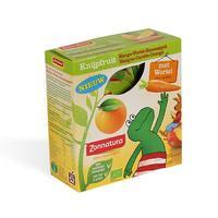 Zonnatura 天然有机压榨果泥 1盒(芒果+胡萝卜+橙子/4袋x85g)