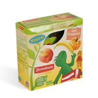 Zonnatura 天然有机压榨果泥 1盒(香蕉+南瓜+蜜桃/4袋x85g)