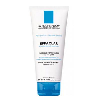 La Roche-Posay 理肤泉 清痘净肤祛脂舒缓洁面啫喱 200ml