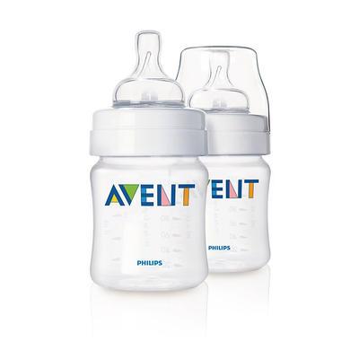 Philips AVENT 新安怡 经典系列 宽口径奶瓶 125ml/4oz 两支装