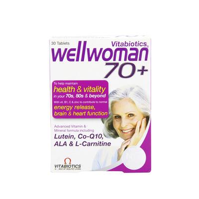 Vitabiotics Wellwoman 女性70+综合营养片 30片