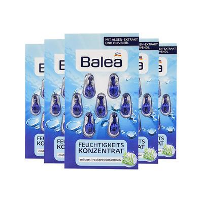 【5件包邮装】Balea 芭乐雅 玻尿酸橄榄油海藻保湿精华胶囊 5*7粒/盒