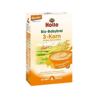 Holle 泓乐 有机三种谷物麦片粥(6个月起) 250g