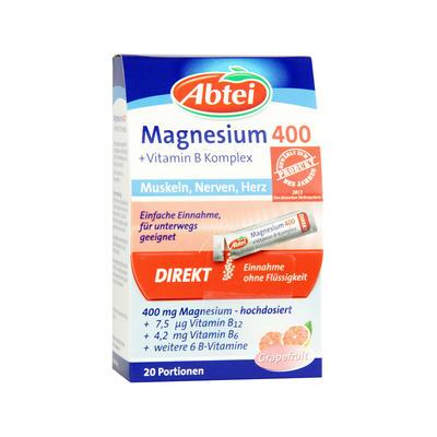 Abtei 镁400+B族维生素复合微颗粒 20袋