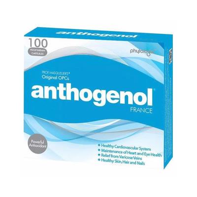 【包邮装】Anthogenol 高浓度花青素葡萄籽精华 100粒(月光宝盒)