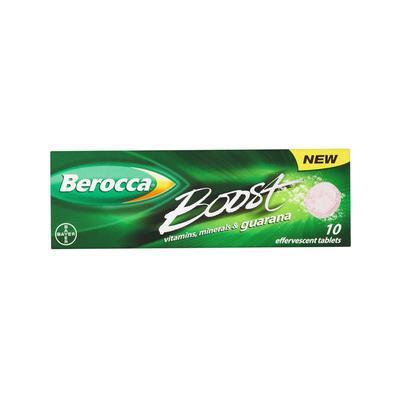 Berocca 拜维佳 维生素B+C+多种矿物质水溶泡腾片(升级版) 10片