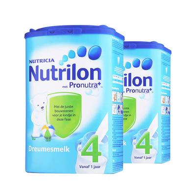 【2件包邮装】Nutrilon 荷兰牛栏 婴幼儿成长奶粉4段 2*800g/罐(1-2岁的宝宝)