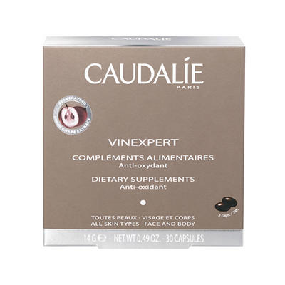 Caudalie 欧缇丽 葡萄籽胶囊 30粒(抗氧化)