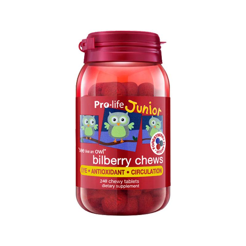 Pro-life 儿童蓝莓越橘护眼咀嚼片 240片*3件