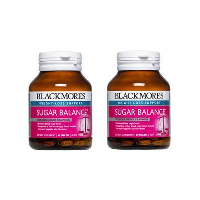 【2件包邮装】Blackmores 澳佳宝 血糖平衡片 2*90片/瓶