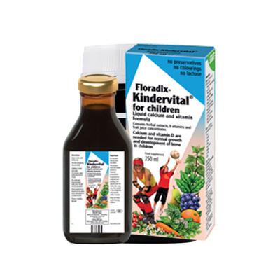 Salus Floradix 莎路斯艾儿儿童多种维他命+钙营养液 250ml