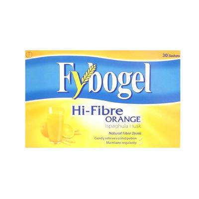 Fybogel 高纤维缓解便秘膳食纤维补充剂 30袋(香橙味)