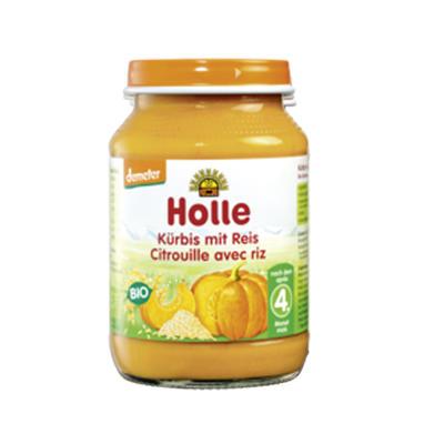 Holle 泓乐 有机南瓜饭罐头 190g(4个月以上)