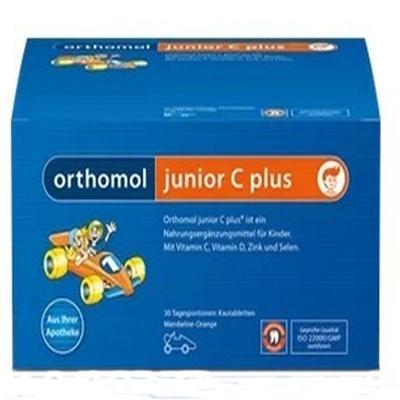 Orthomol 奥适宝 junior C plus 增强儿童免疫力复合营养咀嚼片(野果味)14片