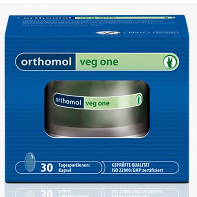 Orthomol 奥适宝 Veg One 素食者全面复合营养胶囊 30粒