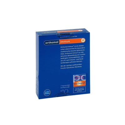 Orthomol 奥适宝 Immun 提高免疫力综合营养微颗粒(覆盆子/薄荷味)7袋