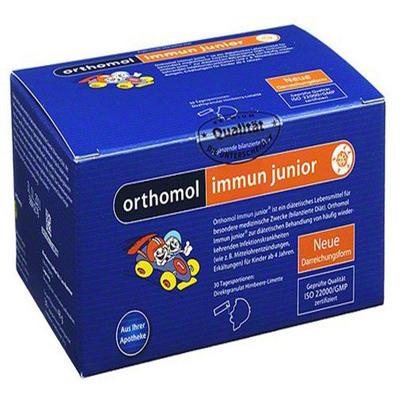 Orthomol 奥适宝 immun junior 提高儿童免疫力综合营养微颗粒(橙子味) 30袋