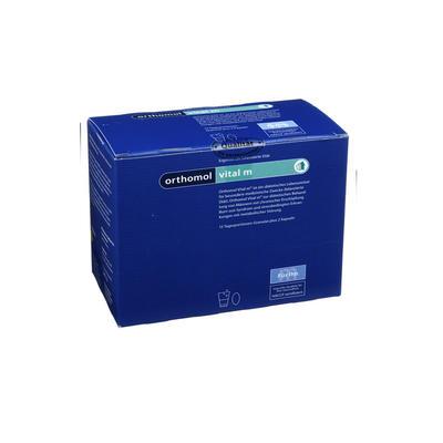 Orthomol 奥适宝 Vital M 抗疲劳缓压男性焕能冲剂/胶囊 15袋(组合装)