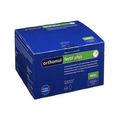 Orthomol Fertil Plus男性备孕活精胶囊 30粒