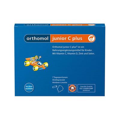 Orthomol 奥适宝 junior C plus 增强儿童免疫力复合营养颗粒 7袋