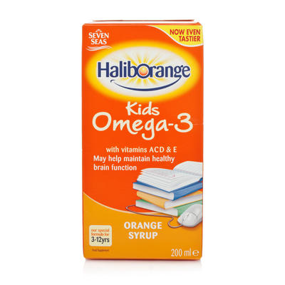 Seven Seas 七海 儿童Omega-3糖浆 200ml(香橙味)