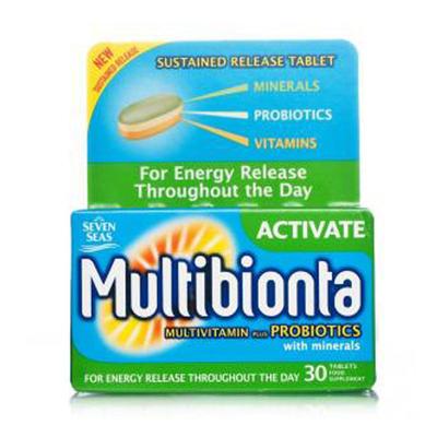 Seven Seas 七海 Multibionta 高效复合维他命营养片 30片