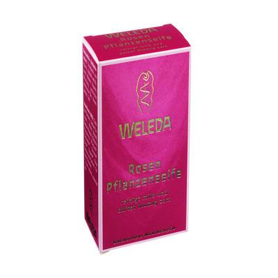 Weleda 维蕾德 玫瑰植物香皂 100g